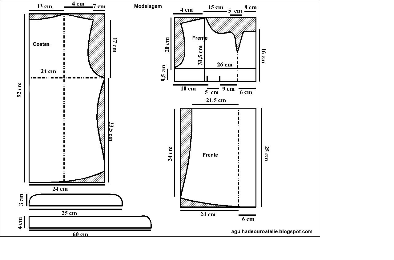 dfc0737e0 ✂Fazendo a modelagem de uma blusa tamanho único (veste até P (fica  larguinha)-M (Fica levemente solta) -G (Fica normal) ✂