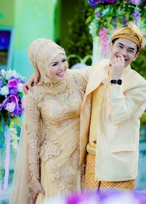 Contoh Baju Pengantin Muslim Kebaya Yang Elegan