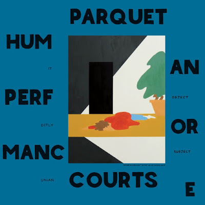 Parquet Courts – Human Performance cover album