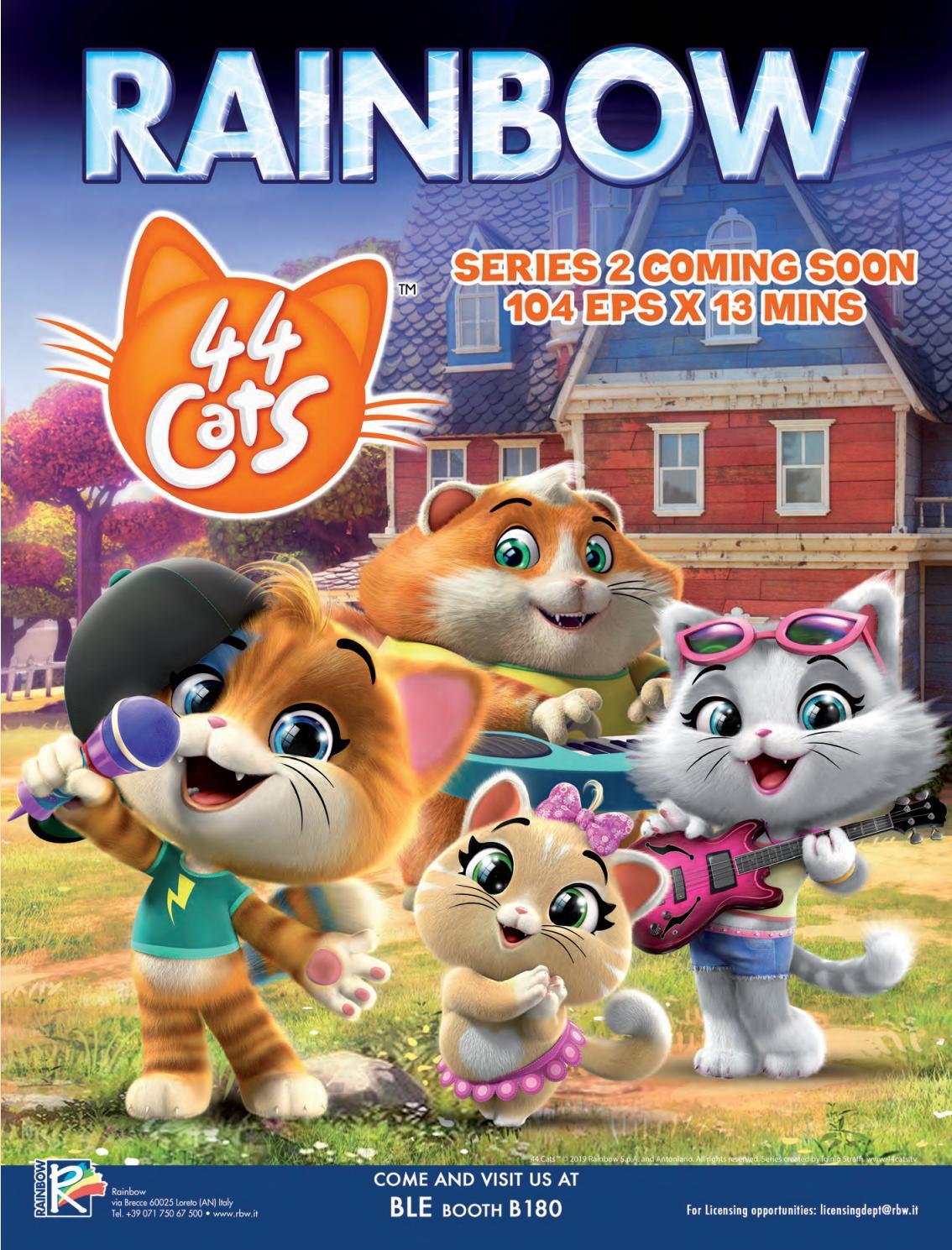 44 Cats Full Episodes : episodes, NickALive!:, Rainbow's, Cats', Renewed, Season