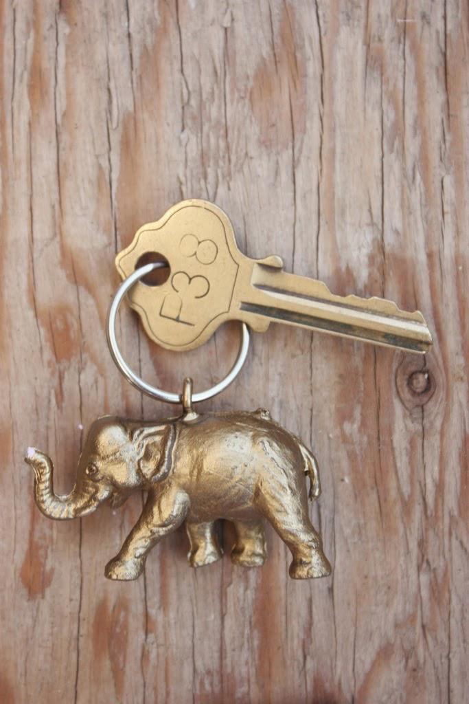 llevero de elefantito
