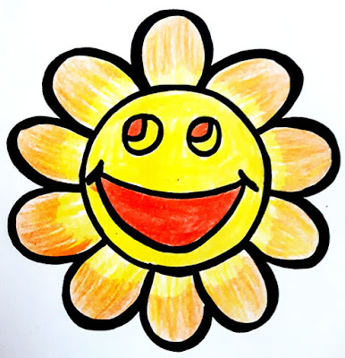 Flower Smiley