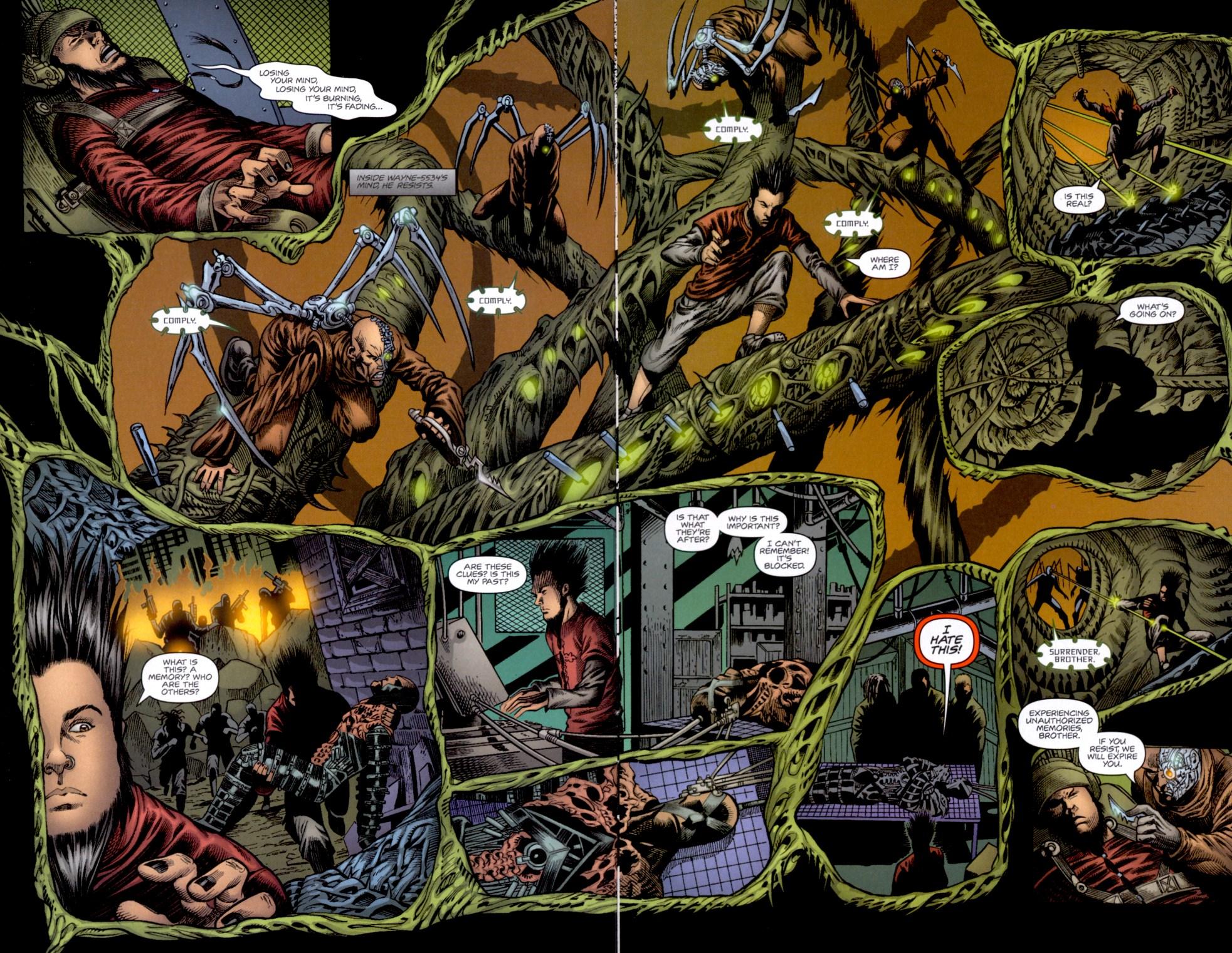 Read online Static-X: Machine comic -  Issue # Full - 4