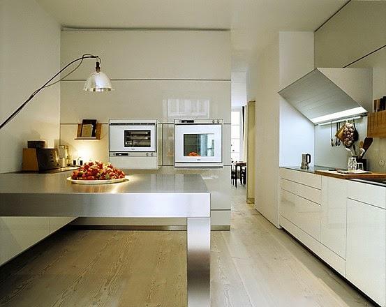 Dise o de cocinas integrales modernas colores en casa for Historia de la cocina moderna
