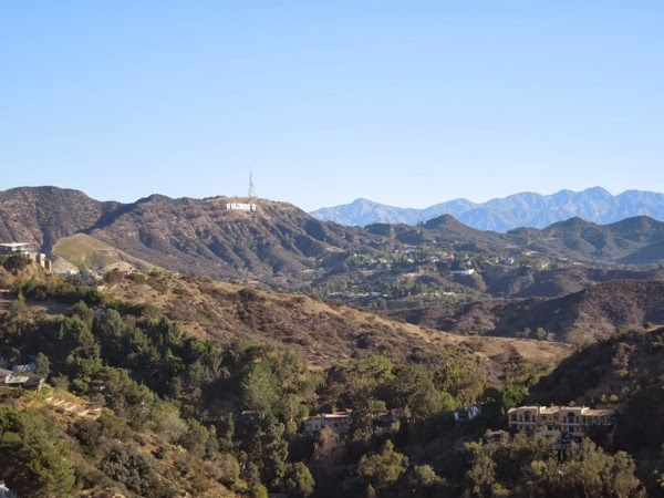 Hollywood Sign view Runyon Canyon Nov 2013