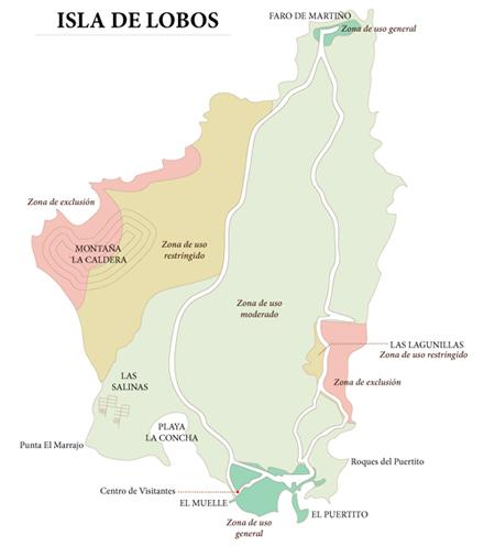 Isla De Lobos Mapa.Mapas Y Planos Del Islote De Lobos Conmimochilacuestas