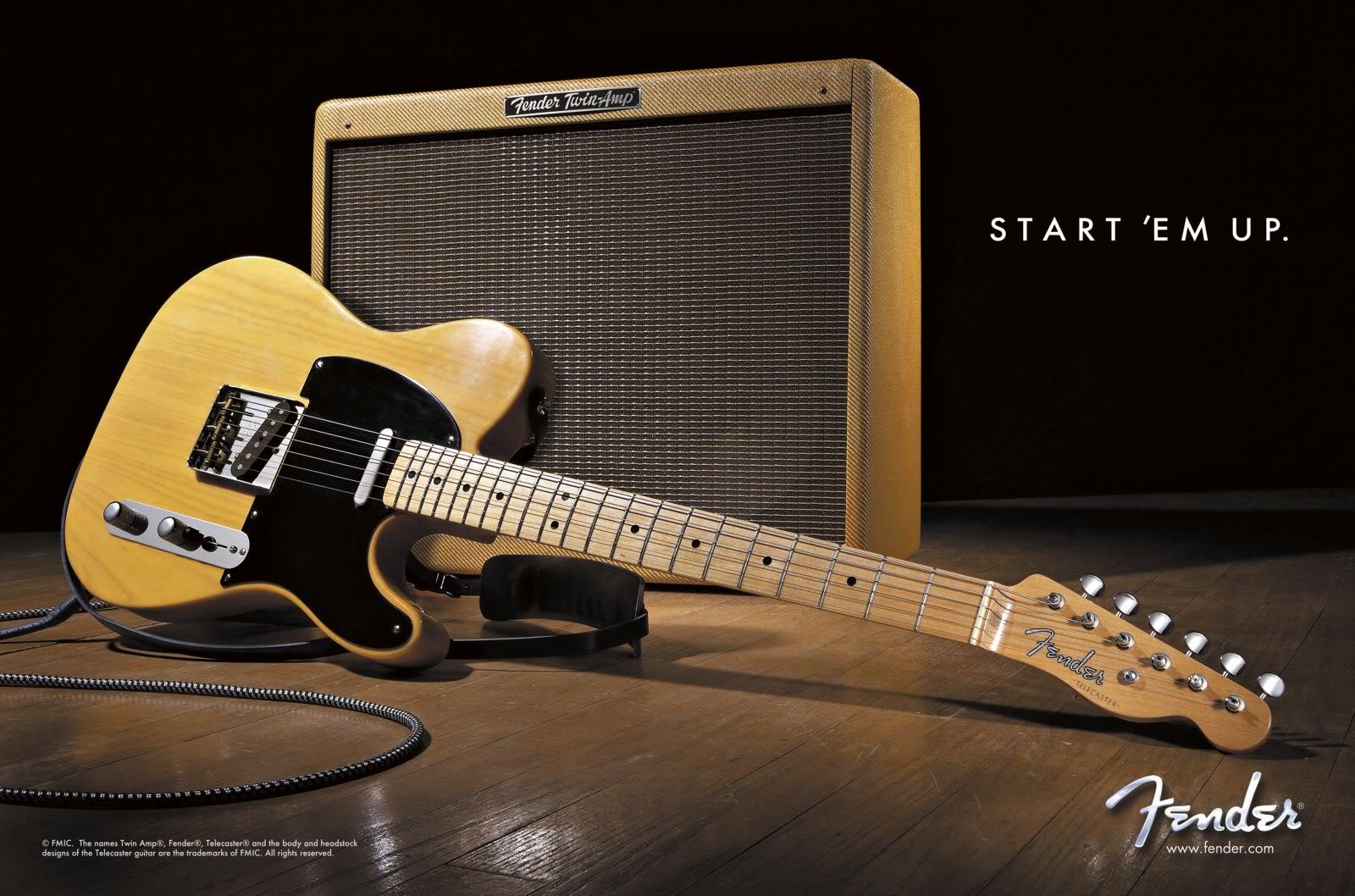 Fender Telecaster Fotos Y Wallpapers Enchufa La Guitarra