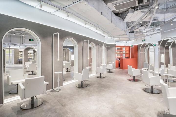 Um sal o de beleza em xangai design innova for Adam beauty salon