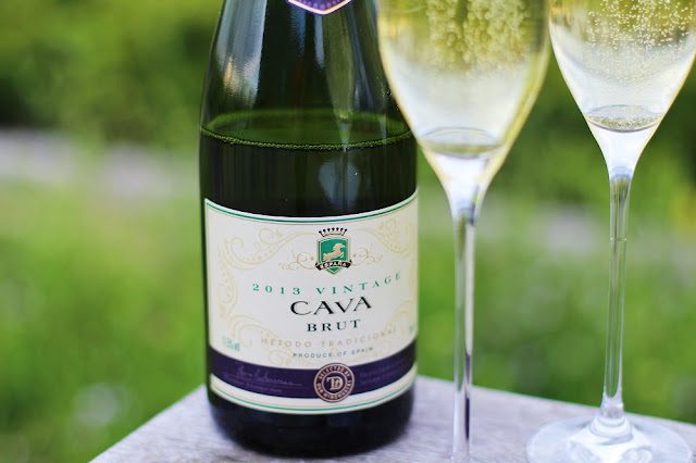Sainsbury's Taste the Difference Cava, rooftop picnic - London lifestyle blog