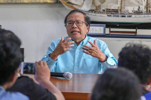 Rizal Ramli: Infrastruktur Tanpa Planning, Jokowi Kadang Jadi Mandor