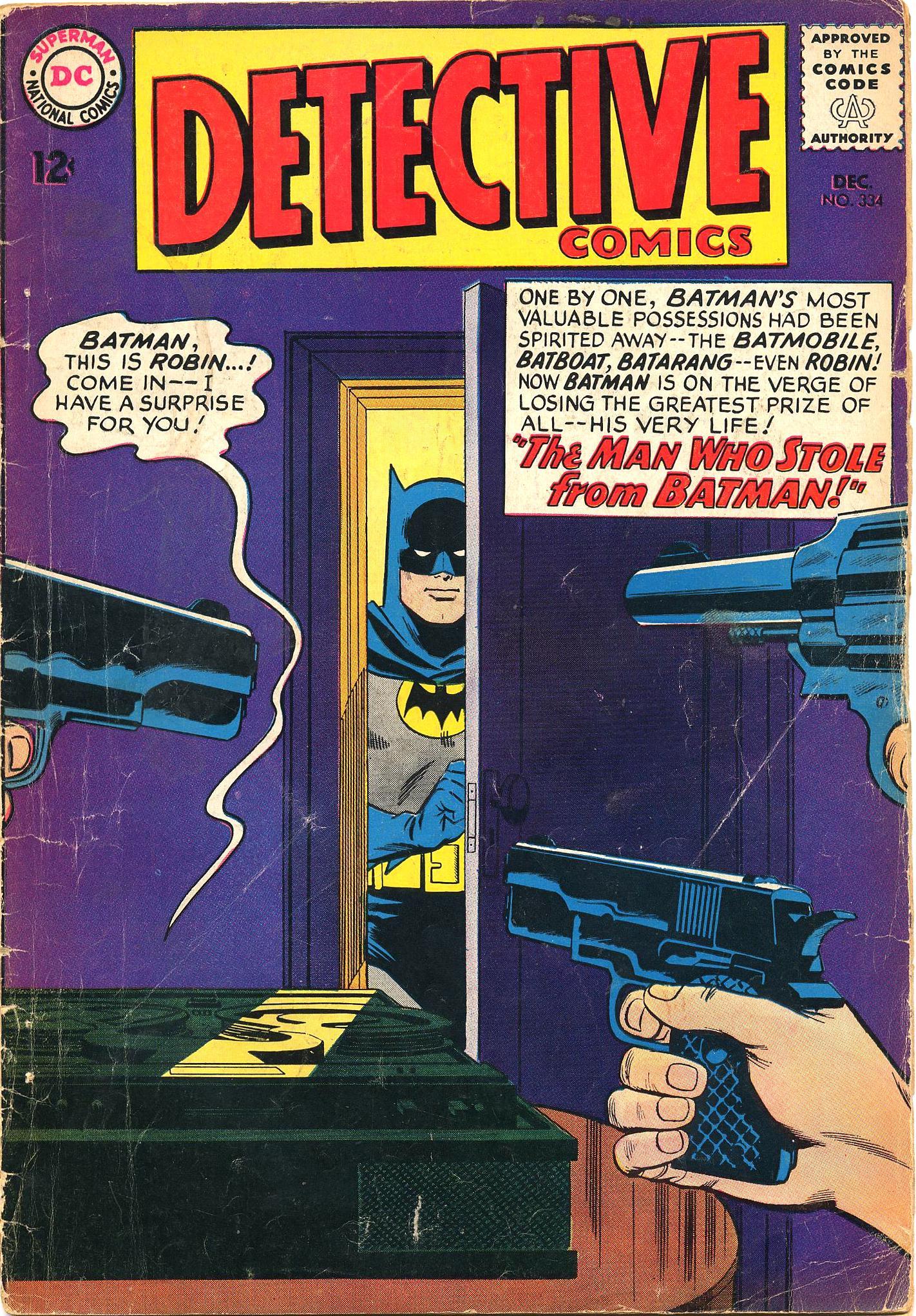 Detective Comics (1937) 334 Page 1
