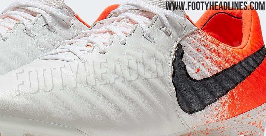 0f0eb8c9a White   Orange Nike Tiempo Legend  Euphoria Pack  2019 Boots Leaked