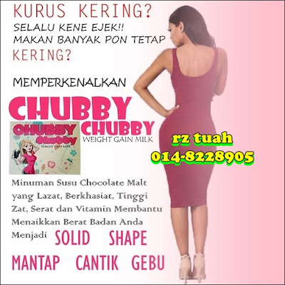 chubby weight gain milk solid montok