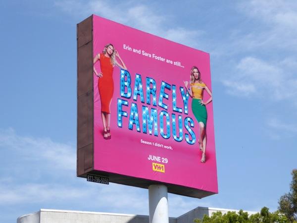 Barely Famous season 2 billboard