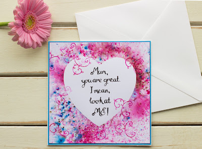 Mum you are great funny handmade Mother's Day card