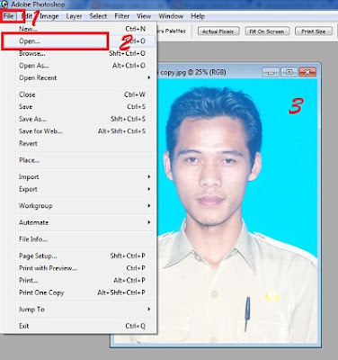 Cara Mudah Membuat Background Photo di Photoshop