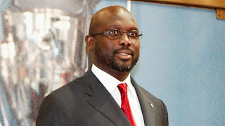 Spotlight : George Weah Sworn in As Liberian President.