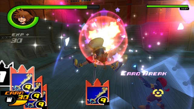 Kingdom Hearts Chain of Memories PS2 GAME ISO Screenshot 2