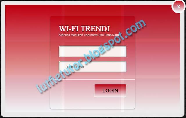 WI-FI Trendy Hotspot Login