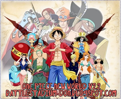 One piece new world v2 2 war3 anime maps - One piece pictures new world ...