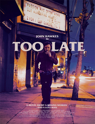 Ver Too Late (2015) Online