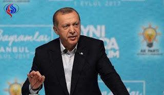 بعد فوات الأوان أردوغان يعترف ان العمليات الإرهابية في العراق وسوريا امتداد لمؤامرة كبيرة ؟!