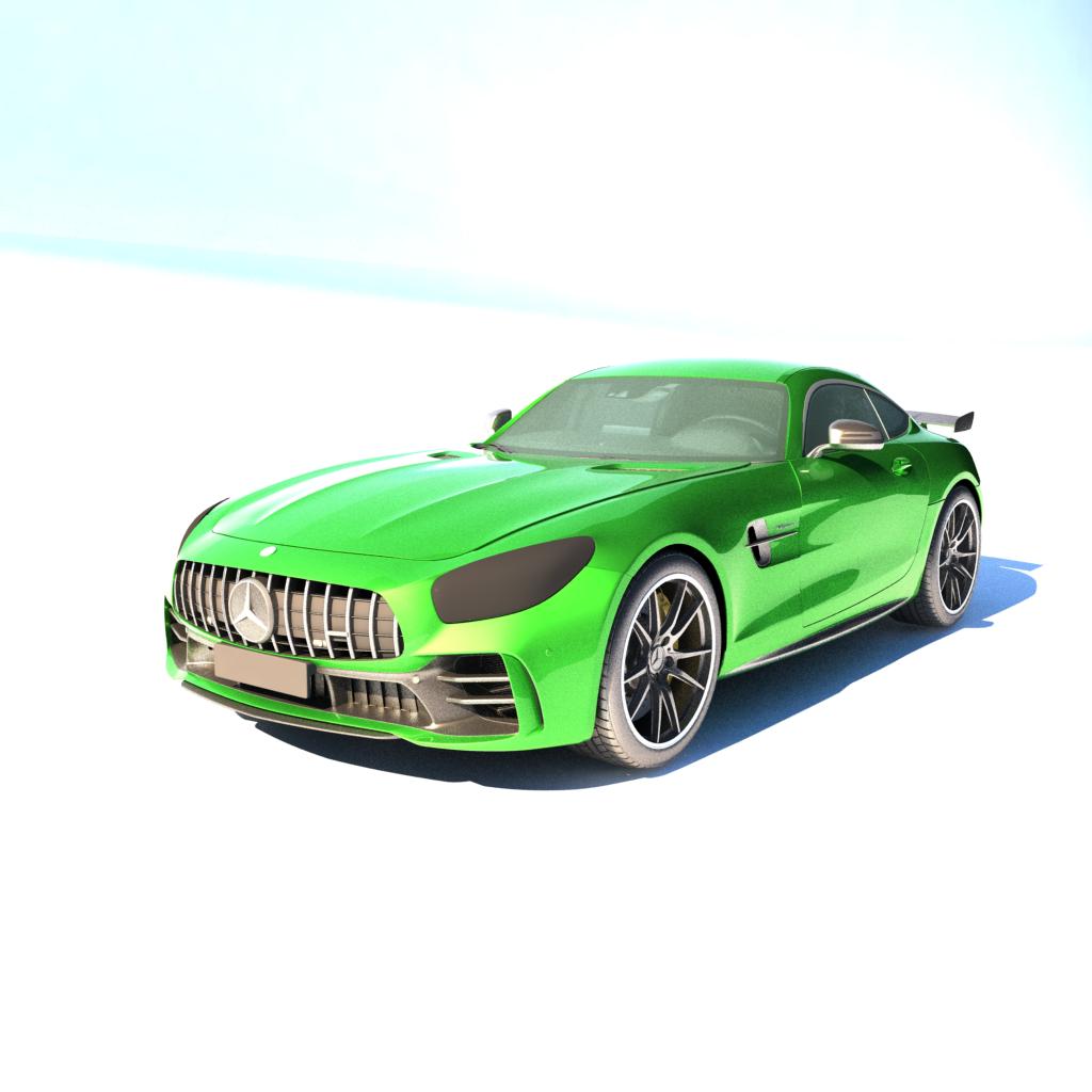 Mercedes Spor Araba 3Dmodel