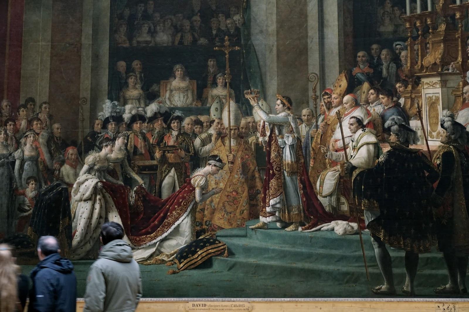 「ナポレオンの戴冠式」の拡大