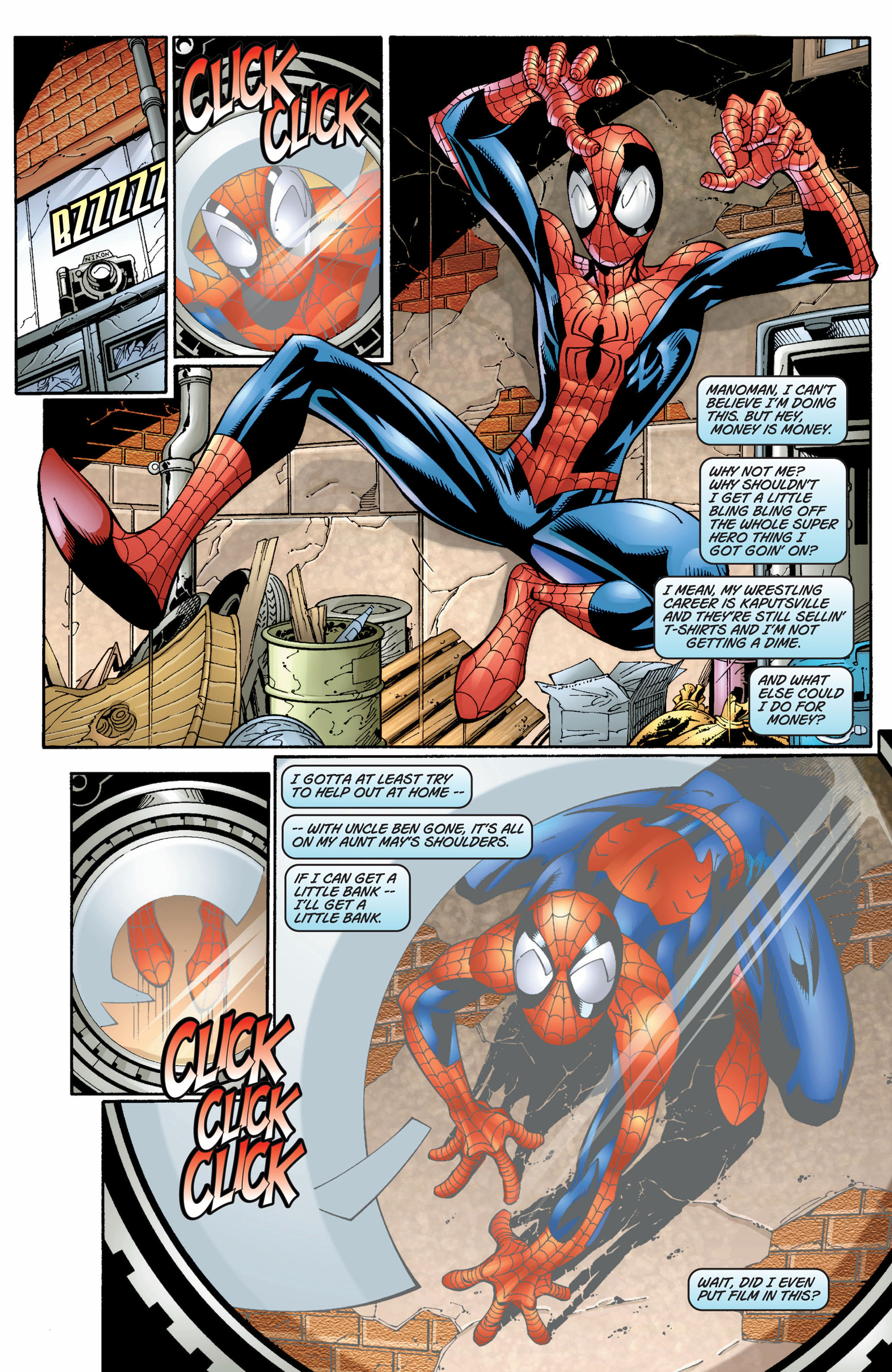 Read online Ultimate Spider-Man (2000) comic -  Issue #8 - 8
