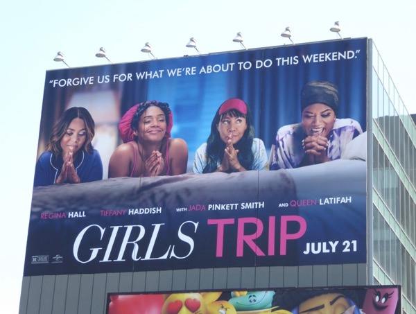 Giant Girls Trip film billboard
