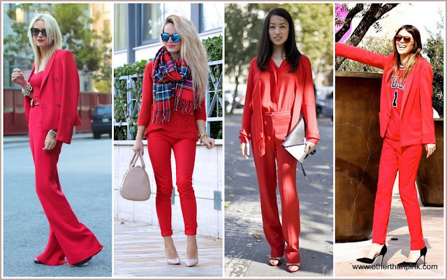 Colour trend czyli lady in red