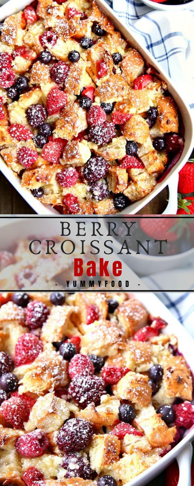 Berry Crоіѕѕаnt Bake