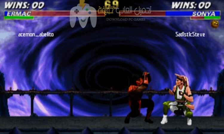تحميل لعبة 3 Mortal Kombat برابط مباشر مجانا