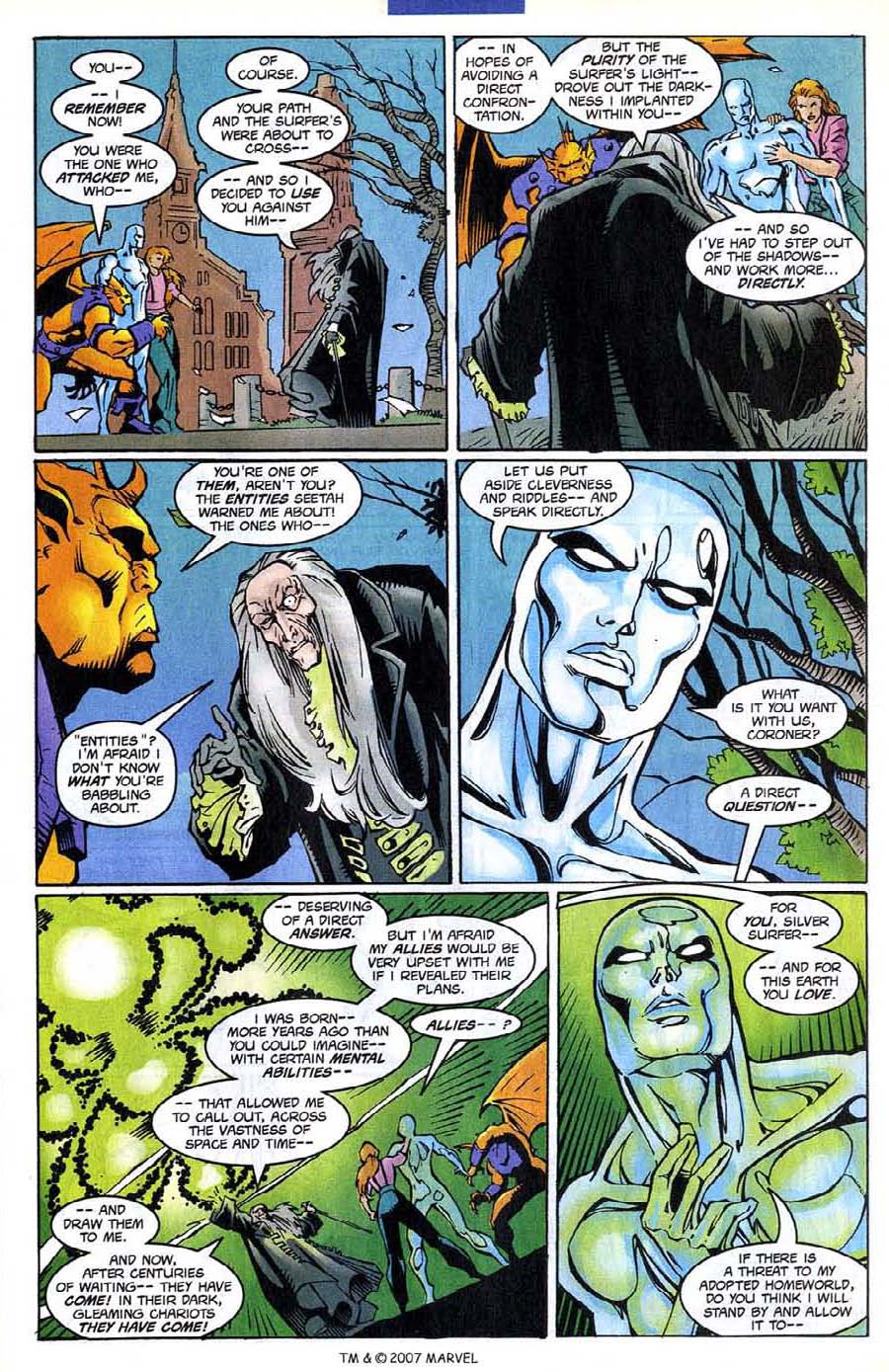 Read online Silver Surfer (1987) comic -  Issue #139 - 23