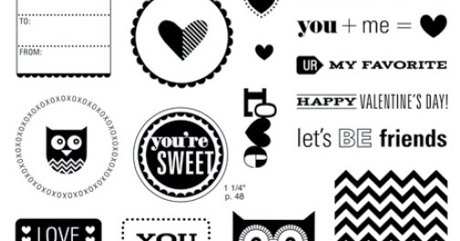 Life's like a Bowl of Stamps: Whooo's Your Valentine Blog Hop