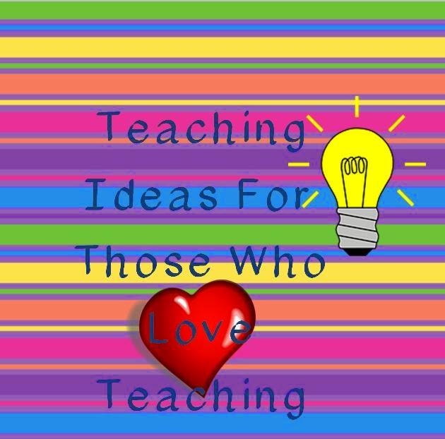 http://teachingideasforthosewholoveteaching.blogspot.com/