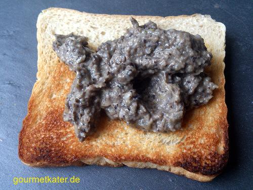 Pilz-Brot-Aufstrich