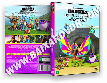 Dragões – Equipe de Resgate: Os segredos do Melo-Draco (2020) DVD-R AUTORADO