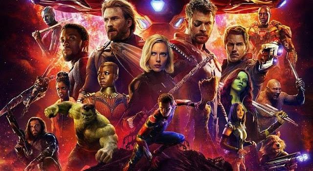 Vingadores Guerra Infinita 2018