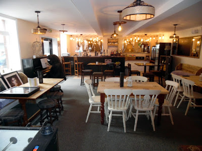 An internal view of the new Stables Bar in Brigg - adjoining the Dying Gladiator pub - picture on Nigel Fisher's Brigg Blog