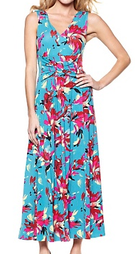 f68be2a3269 Home Shopping Network (HSN): -Liz Lange Printed Ultimate Maxi Dress $39.95  (Retail $99)