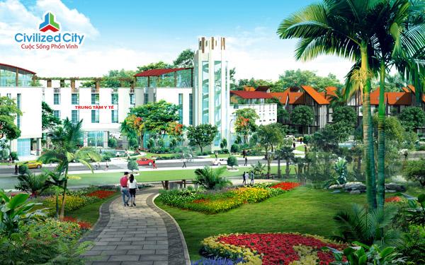 Phối cảnh dự án Civilized City