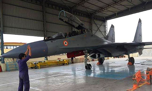 Supersonic-Cruise-Missile-BRAHMOS-integrated-on-Su-30MKI