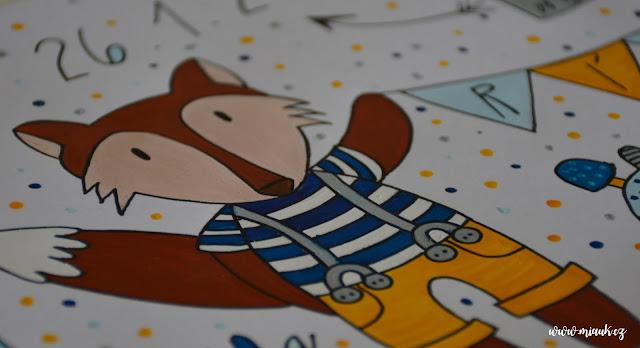 obrázek pro miminko lišák