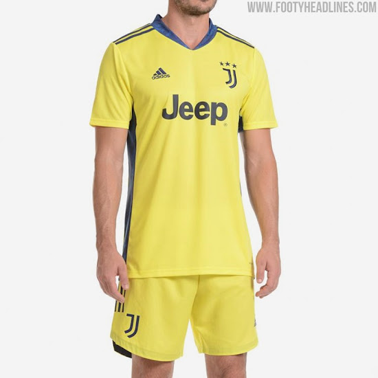 Juventus 20 21 Goalkeeper Home Kit Released Footy Headlines