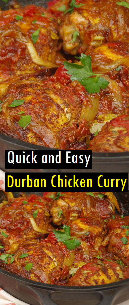 Quick and Easy Durban Chicken Curry