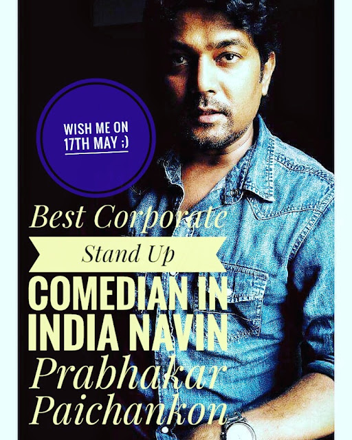 Best Corporate Stand Up Comedian In India Navin Prabhakar