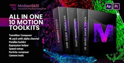 All in One Motion, Transition, Parallax, Expression ToolKit | After Effects Scripts | Videohive 23443787 - Free download