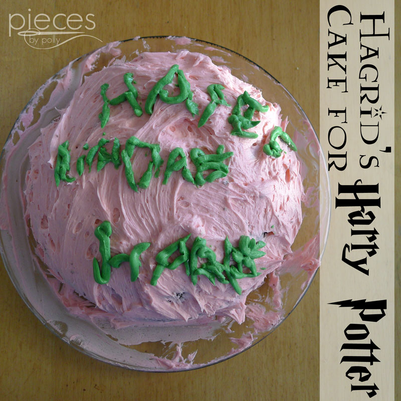 Marvelous Pieces By Polly Hagrids Birthday Cake For Harry Potter Personalised Birthday Cards Paralily Jamesorg