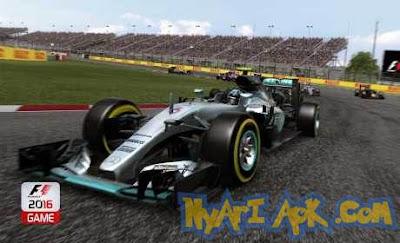 Download F1 2016 Mod v1.0.1 APK + Data OBB Android Terbaru